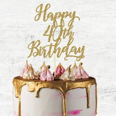 40 while 40:  My 40th Birthday Bucket List